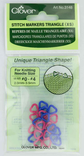 Clover – Extra Small Triangle Stitch Markers