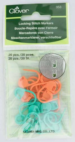 Clover – Locking Stitch Markers