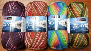 Viking of Norway – Aurora Super Sock Yarn
