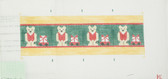 Hand-Painted Needlepoint Canvas - C0702A – Teddy Bears and Wagons