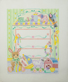 Hand-Painted Needlepoint Canvas - 3363 – Baby's Dresser