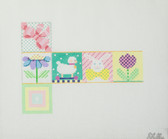 Hand-Painted Needlepoint Canvas - JB03 - Shelly - Easter Box