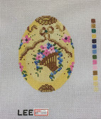 Hand-Painted Needlepoint Canvas – Lee – Faberge Egg – XM410