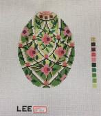Hand-Painted Needlepoint Canvas – Lee – Faberge Egg – XM414
