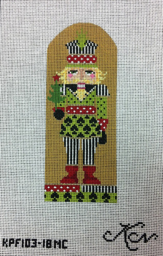 Kelly Clark Needlepoint Canvas - Prince of Spades Nutcracker - KPF 103-18 NC