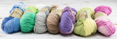 Araucania Copiapo Yarn Choose an option to see what each color looks knit. 70% Cotton, 20% Viscose, 10% Linen Approx 205 yards per 100g Knits to 5.5 sts per inch on a US 6.0 needle. DK Weight