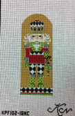 Kelly Clark Needlepoint Canvas - King of Diamonds Nutcracker - KPF 102-18 NC