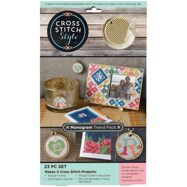 Monogram Trend Pack 23PC Set
