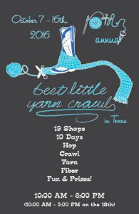 2016 Hill Country Yarn Crawl - 10th Annual