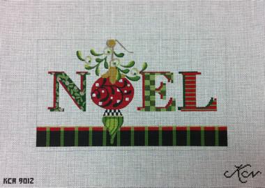 Kelly Clark Needlepoint Canvas - Noel - KCA 9012