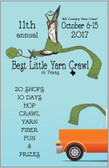 Yarn Crawl 2017 Passport
