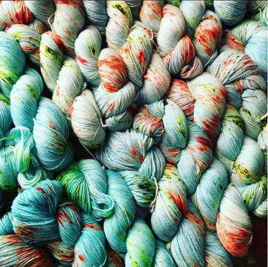The Best Little Yarn Crawl in Texas 2017  Leon Alexander - Nice Quiet Crowd Exclusive Colorway