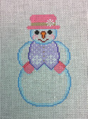 Snowman with Pink Hat 906AA