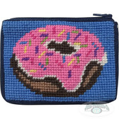 Stitch and Zip Kids Needlepoint Kit – SZ8109 Donut Coin Case 10M
