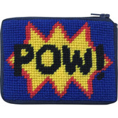 Stitch and Zip Kids Needlepoint Kit – SZ8108 POW Coin Case 10M