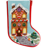 Stitch and Zip Needlepoint Kit – SZ1004 – Gingerbread Stocking