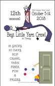 Yarn Crawl 2018 Passport