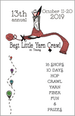 Yarn Crawl 2019 Passport