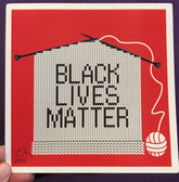 Black Lives Matter Knitting Sticker