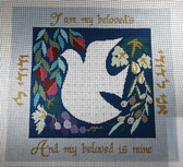 Treglown Designs BD-153 Dove Needlepoint Canvas