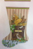 Mary Lake Thompson Pinecone Bucket Stocking