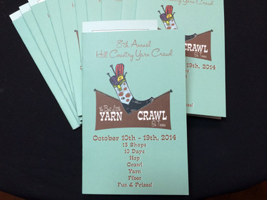 8th Annual Hill Country Yarn Crawl The Best Little Yarn Crawl in Texas Buy online and pick up in store.