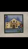 Small Alamo w/Bluebonnet Ann Wheat Pace Canvas