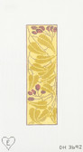 Hand-Painted Needlepoint Canvas - Dream House Ventures - DH-3692 - Olive Branch Bookmark