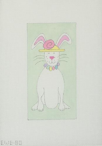 Hand-Painted Needlepoint Canvas - Ewe & Eye - EWE-80 - Mindy