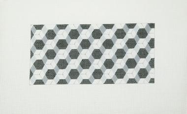 Hand-Painted Needlepoint Canvas - Julia's Needleworks - C617 - Geometric II