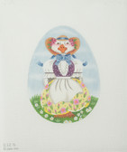 Hand-Painted Needlepoint Canvas - Melissa Shirley Designs - 832A - Mother Goose Egg