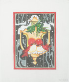 Hand-Painted Needlepoint Canvas - Raymond Crawford - HO-283 - Winter Lovebirds