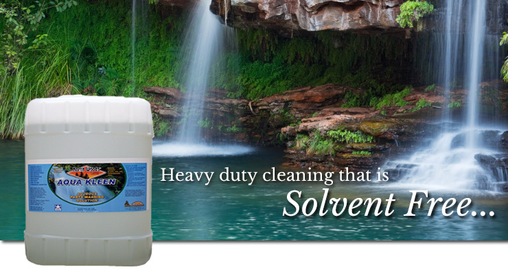 Solvent Free Cleaning