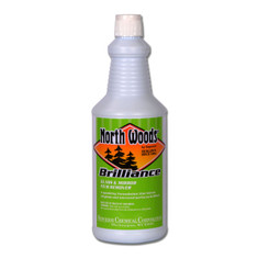North Woods Brilliance Glass and Mirror Cleaner
