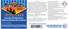 North Woods Complete Powdered Machine Dishwashing Detergent