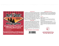 North Woods Oxyzyme Oxygenated Powdered Laundry Detergent