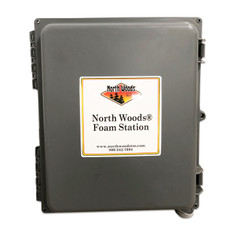 North Woods Foam Station - Wall Mount Concentrate 1 Product Foam Unit