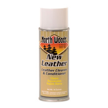 North Woods New Leather Foaming Leather Cleaner & Conditioner
