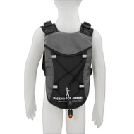 CHILD SAFETY HARNESS BACKPACK fits 1 Liter hydration bladder – BLACK