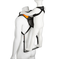 SCOUT Toddler Carrier w/ Safety Harness for Hiking, Trails, Camping, Fitness, Travel
