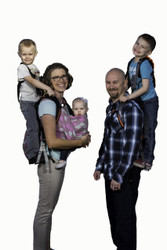 SCOUT TRAVEL BUNDLE Toddler Carrier w/ Safety Harness & 6 Accessories for Hiking, Trails, Camping, Fitness, Travel (Save $104)