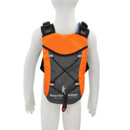 CHILD SAFETY HARNESS BACKPACK - fits 1 Liter hydration bladder - ORANGE