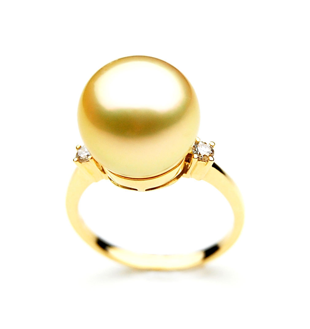 golden pearls bypass with solari view in sea yurman jewelry diamonds gold south david ring yellowgold cultured fullscreen