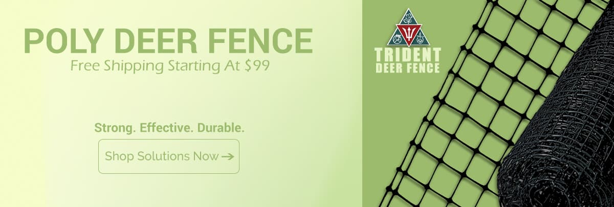 Poly Deer Fence