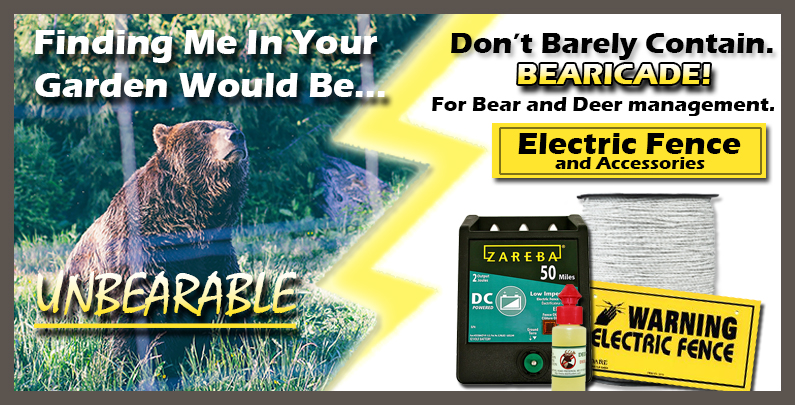 Bear Management Electric Fence