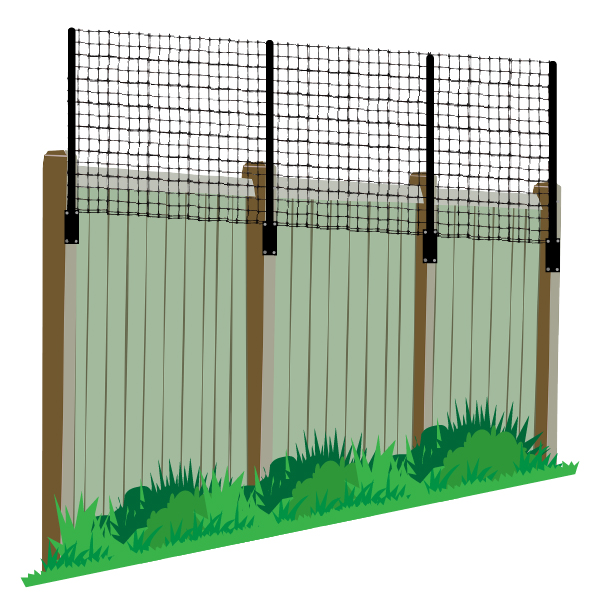 Fence Extender For Existing Fences