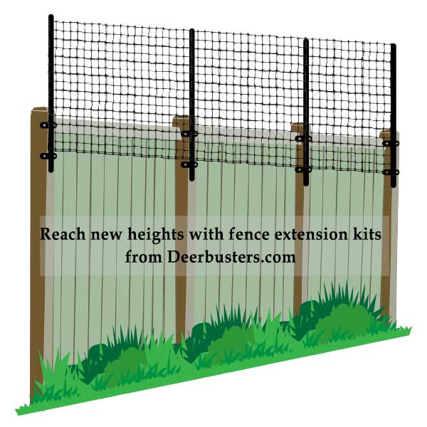 How To Use Fence Extension Kits Deerbusters Com
