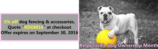 September Is Responsible Dog Ownership Month Deerbusters Com