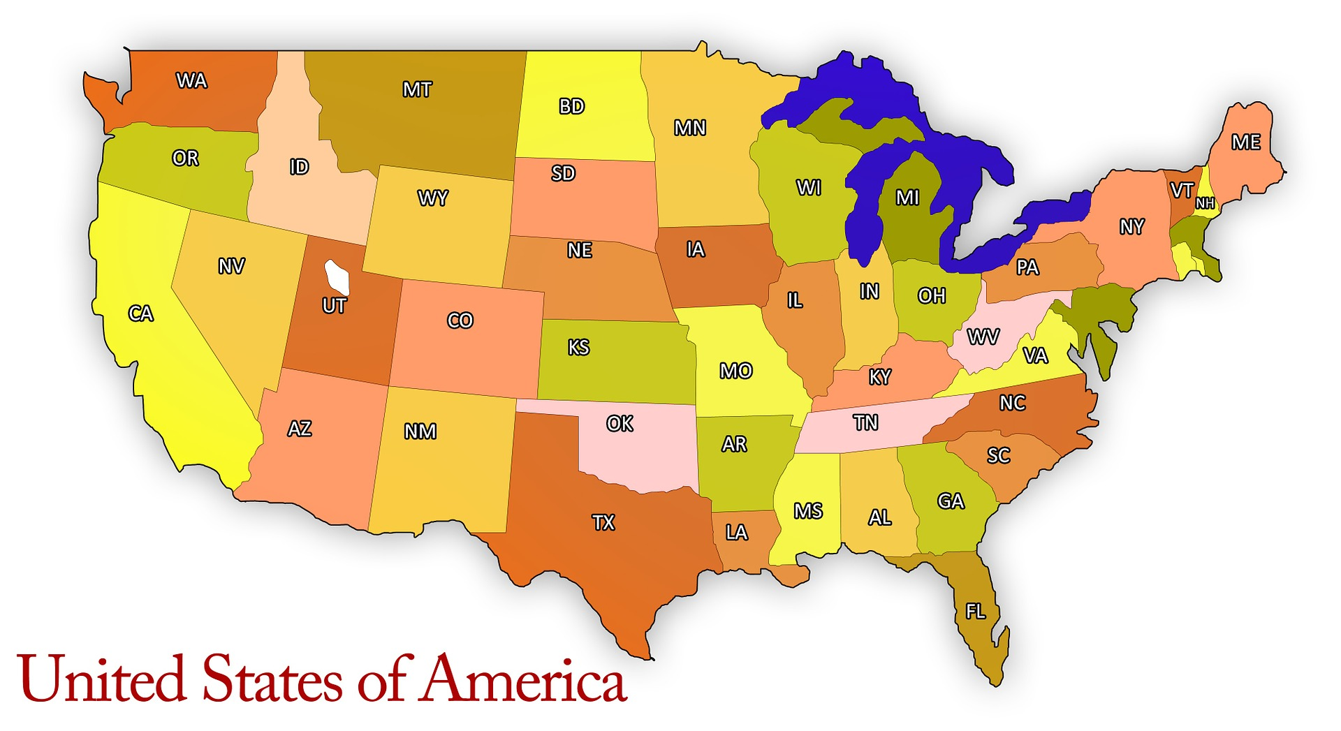 Worst States Reporting Ticks Deerbusterscom - Map-of-ticks-in-us