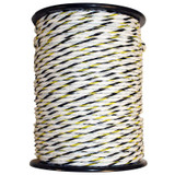 "1/4"" Electric Fence Poly Rope, 656'"